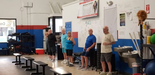 The Golden Lions program is a form of Cross Fit training for those 65 and over.