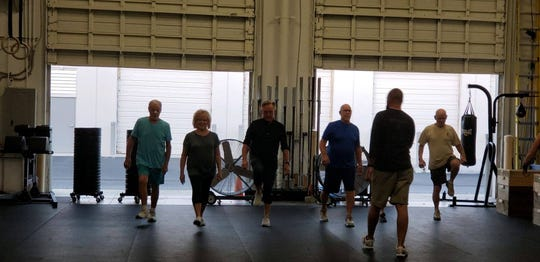 The Golden Lions classes are open to anyone who cannot participate on a vigorous workout routine.