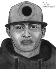 Fort Myers police have released a sketch of a suspect in a May 9 home burglary.
