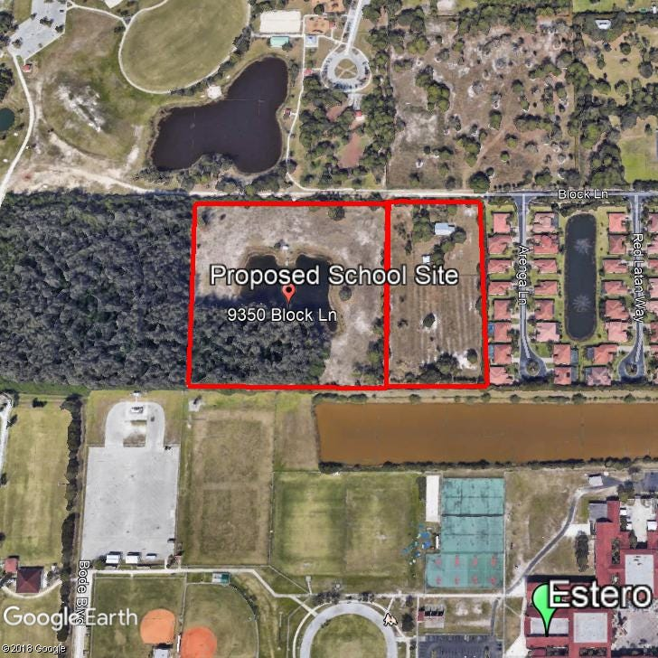 Lee County school district tentatively agrees to buy Estero land for $1.5 million