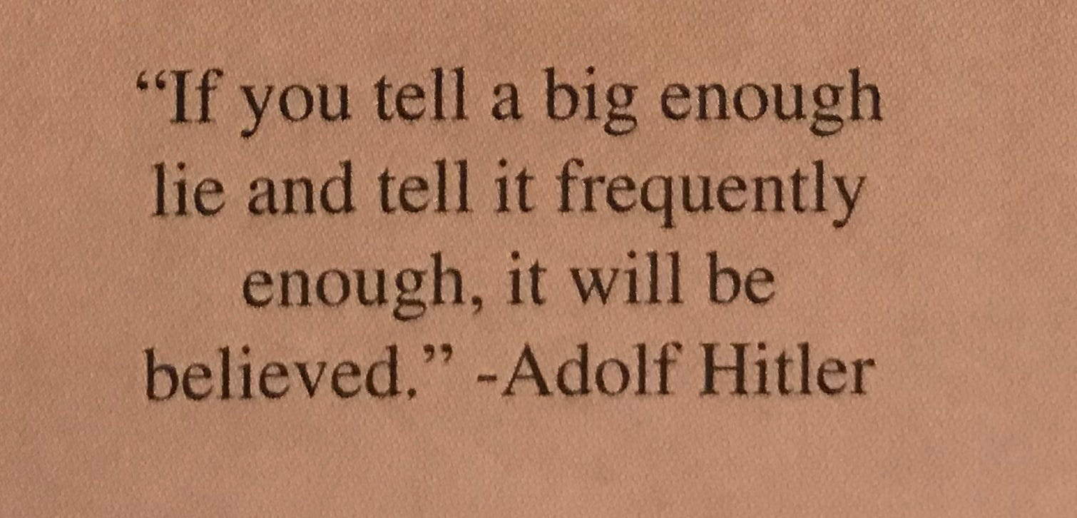 Adolf Hitler quote in Green Bay Southwest yearbook causes controversy