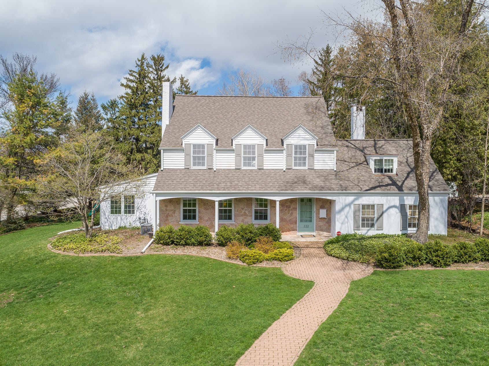 Green Bay Packers coach Vince Lombardi briefly lived in the house at 222 W. Mission Road, Allouez. It is for sale.