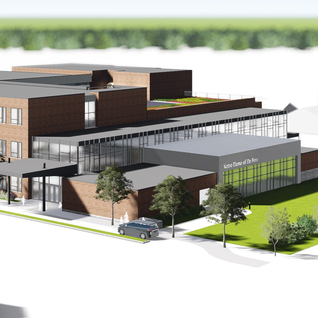 Mulvas donate $27 million more to De Pere, this time for new Catholic school, parish center