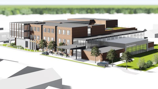 Proposed new Notre Dame School, to be funded by Mulvas
