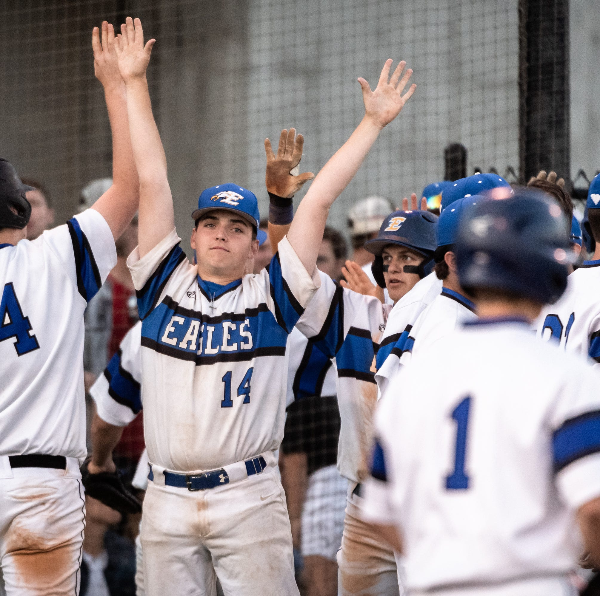 Eastside baseball defeats Midland Valley to inch closer to state championship