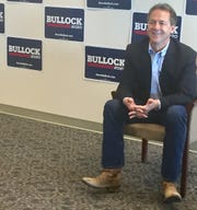 Gov. Steve Bullock talks Tuesday with Montana media about his run for president.