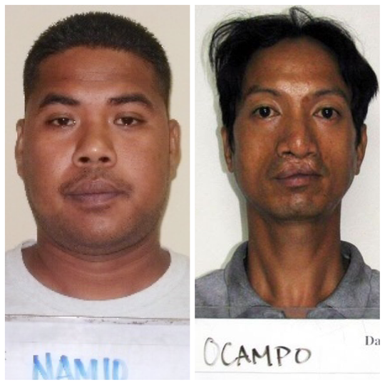 Iacinto Namio and Edwin Ocampo