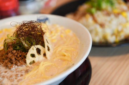 Vegan Ramen at Fuji Ichiban Ramen in Tumon, May 14, 2019.