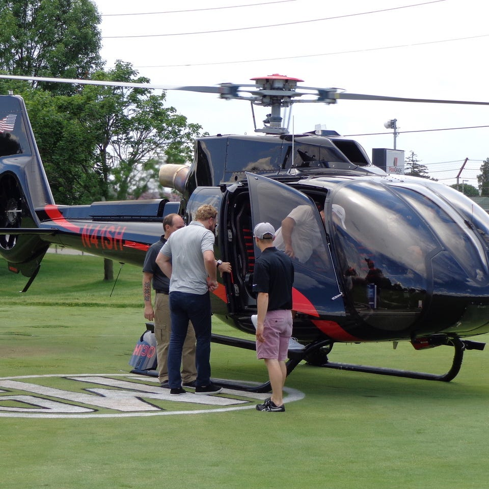 Indy 500 traffic woes get you down? Now you can take a chartered helicopter for $650