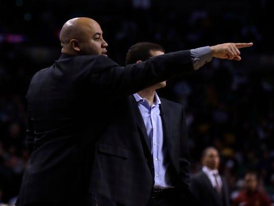 Micah Shrewsberry joins Matt Painter's staff after serving as an assistant coach with Brad Stevens for the Boston Celtics.