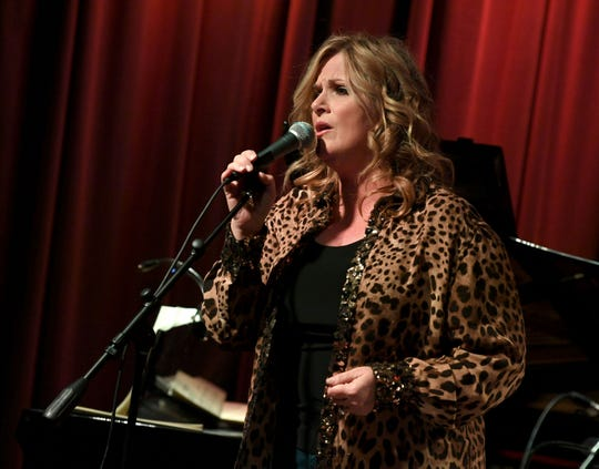 Trisha Yearwood discusses her new album of Frank Sinatra songs and performs at The GRAMMY Museum on January 08, 2019 in Los Angeles, California.