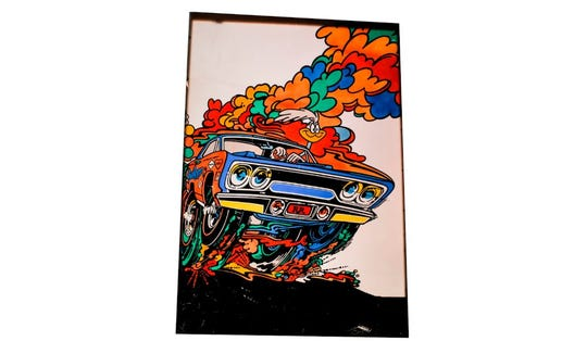 Believed to be shown at the 1970 Detroit Auto Show, and probably the coolest picture of the Road Runner ever.