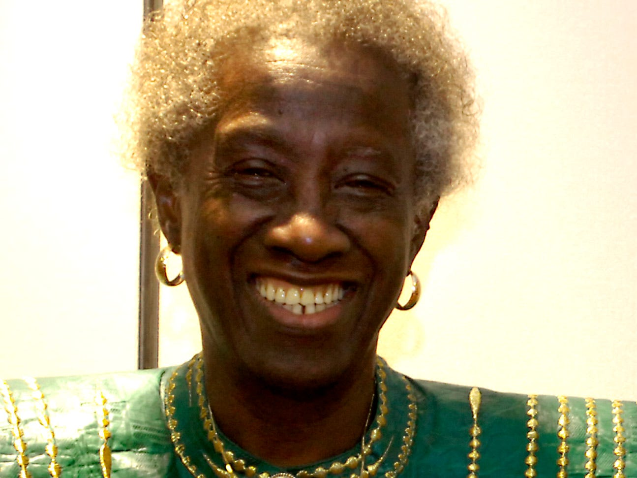 Unita Blackwell is honored at the Sisters of Change Reception at the HIlton Garden Inn in Montgomery, Ala. Friday, November 10, 2006. (Montgomery Advertiser/Tammy McKinley)