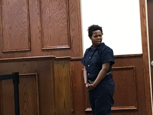 Linda Arrington was charged with negligent homicide related to the shooting death of his 3-year-old son Chrisaiah in Jackson City Court on May 14.