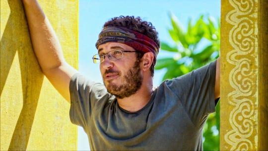 """Rick Devens competes on """"Survivor: Edge of Extinction."""