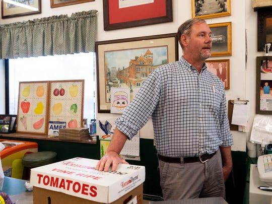 Perry Pratt of Pratt's Country Store.
