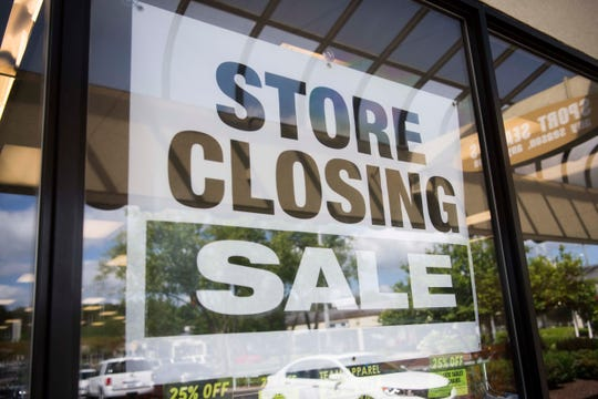 Sport Seasons on Kingston Pike in West Knoxville is closing, as seen on Tuesday, May 14, 2019.