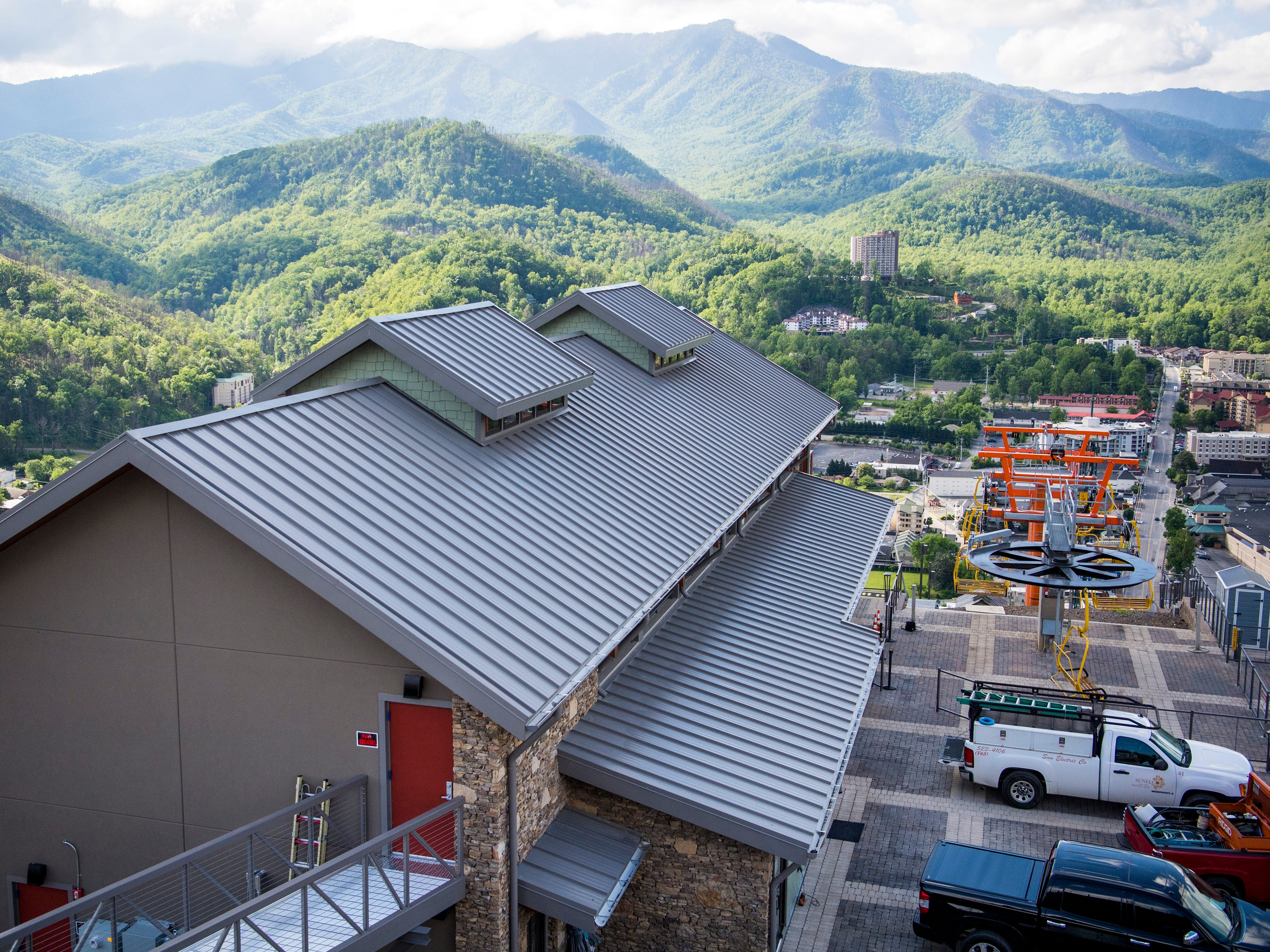The Gatlinburg SkyLift Park, pictured on Tuesday, May 14, 2019, offers panoramic views of Gatlinburg and the Smoky Mountains.