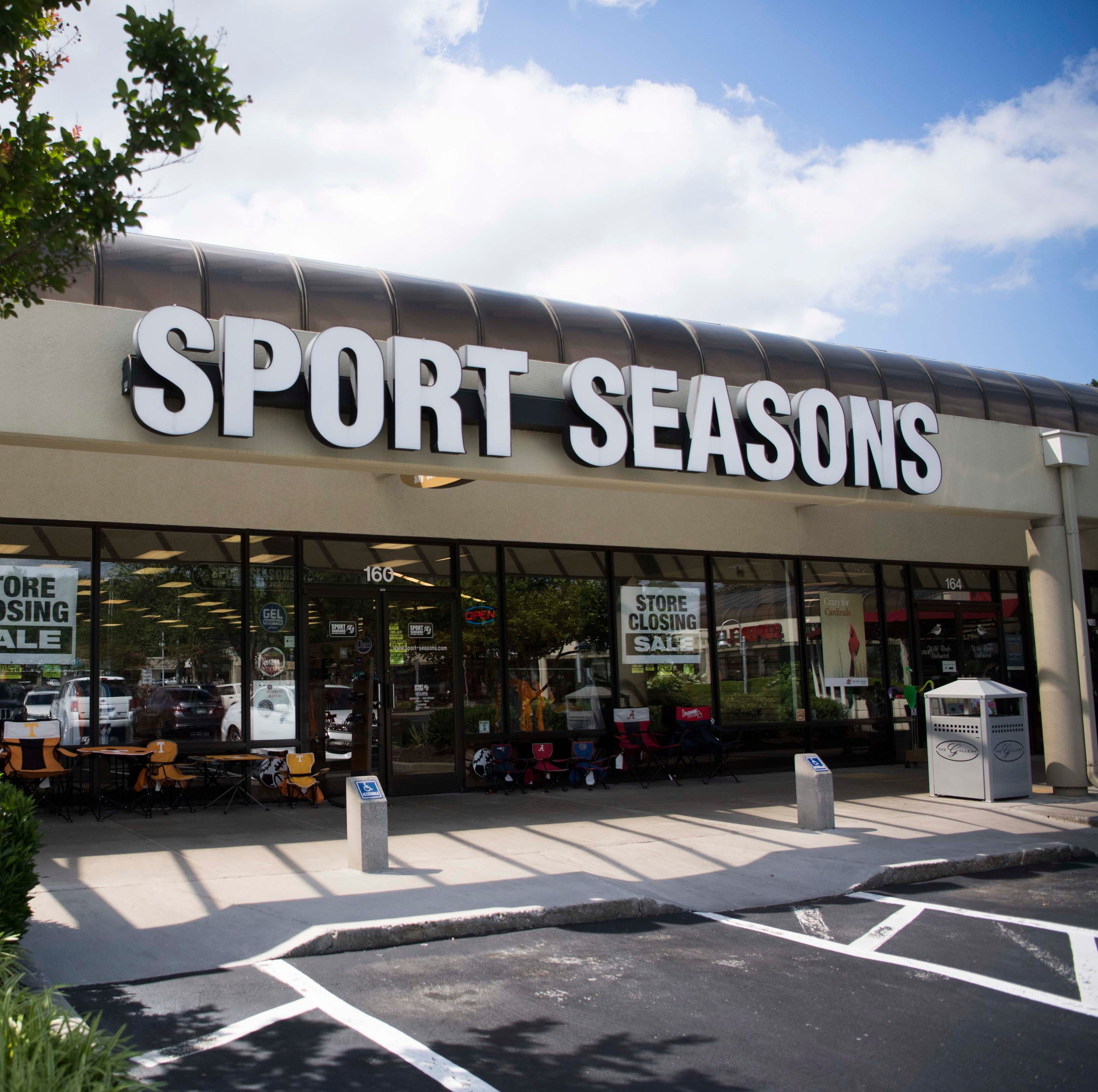 Sport Seasons discounting W. Knoxville store contents as it readies to close