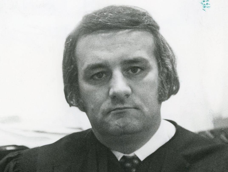 Judge James B. Scott, February 1979.