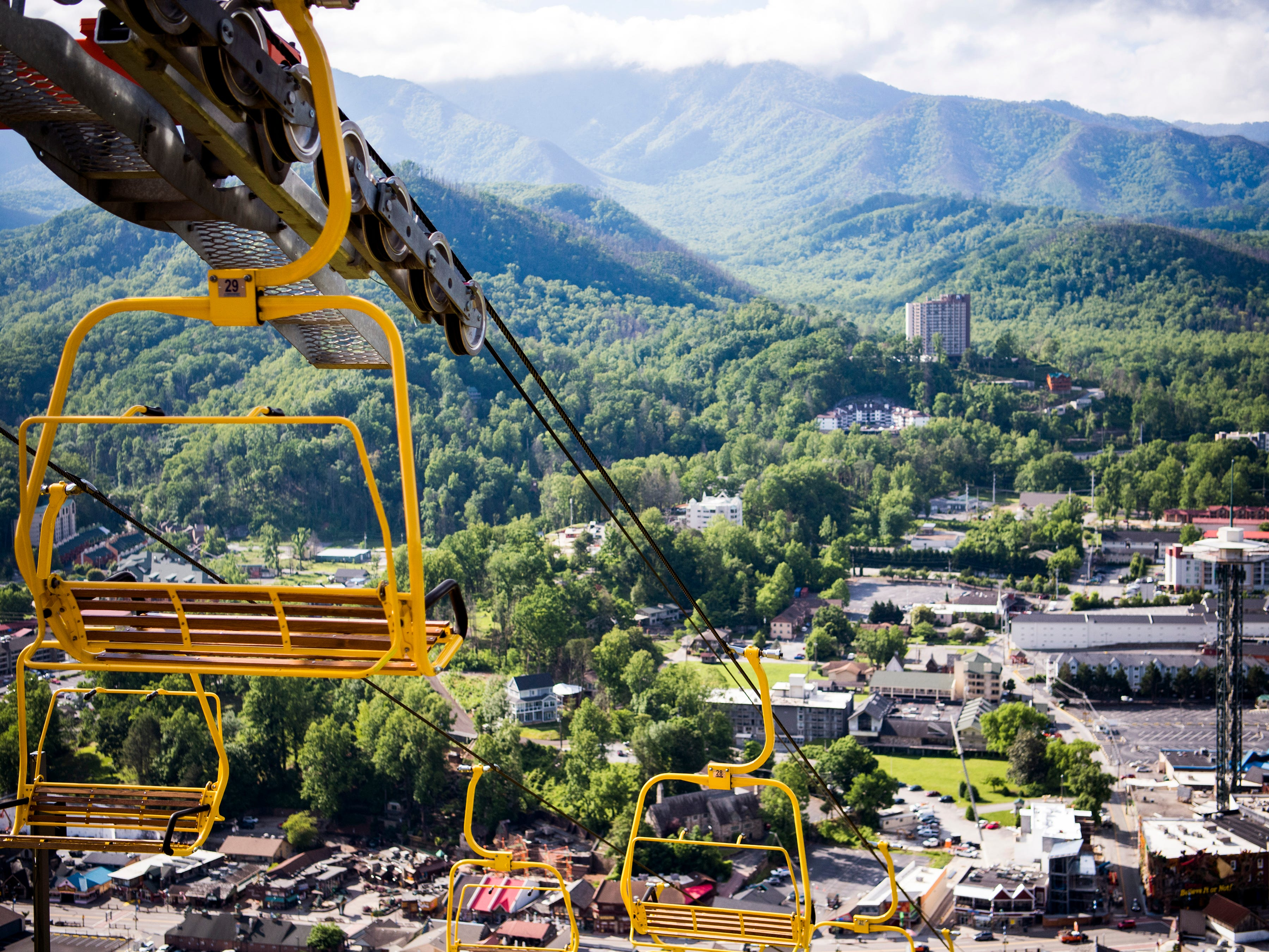 Guests visiting the Gatlinburg SkyLift Park will be able to take in panoramic views of Gatlinburg and the Smoky Mountains.