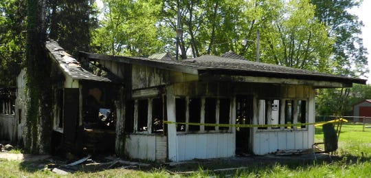 The Millersport Fire Department has ruled this an arson case.