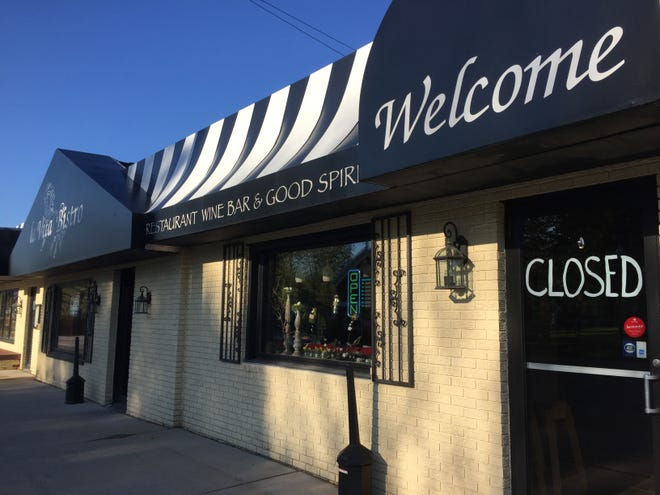 La Vita Bistro in downtown Pinckney, shown Tuesday, May 14, 2019, closed and the owner put the building up for sale.