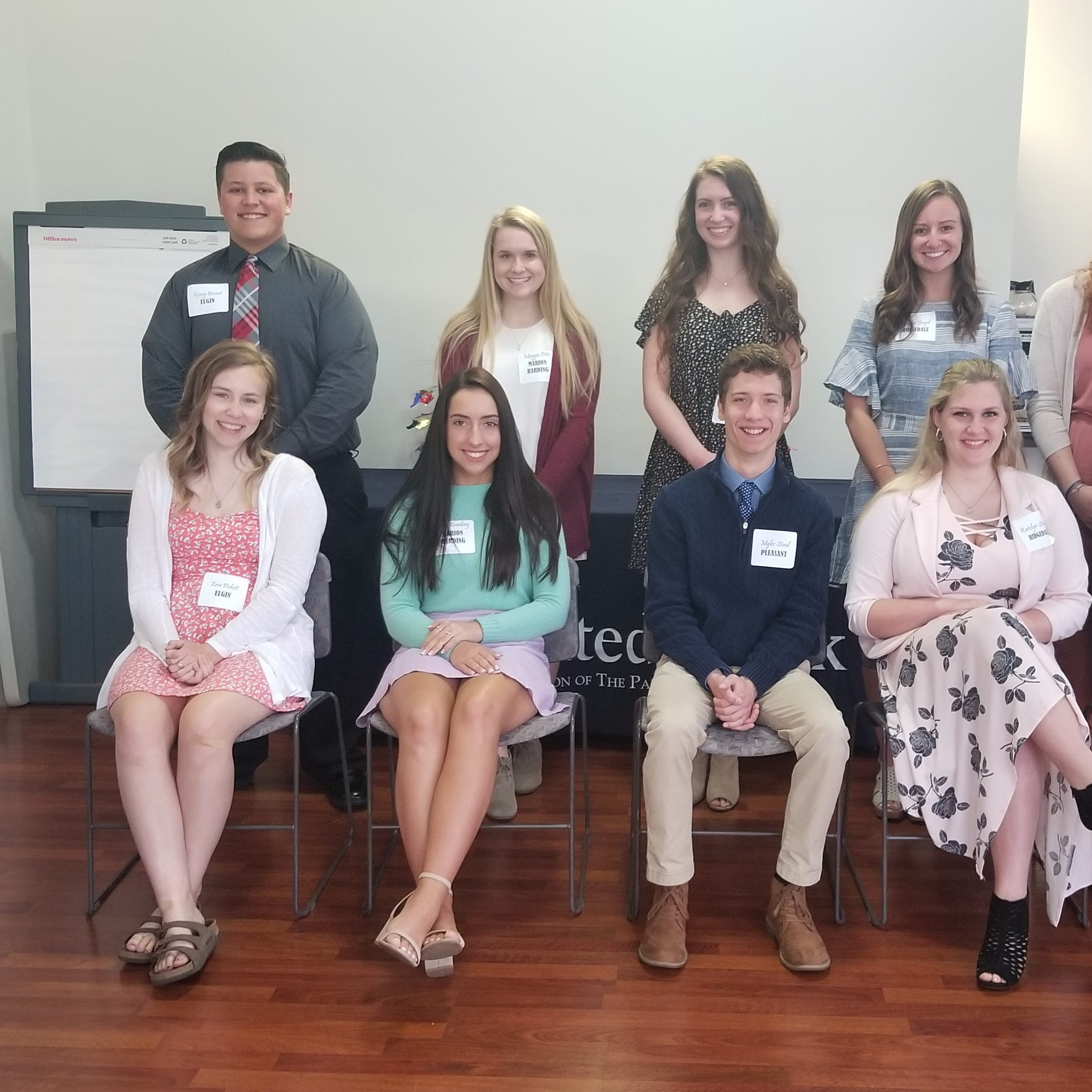 United Bank recognizes 10 Marion County high school seniors