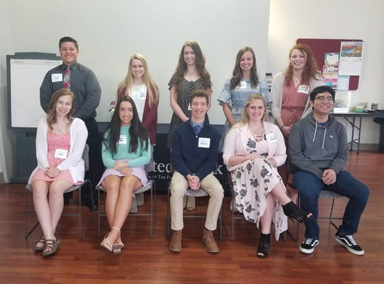 United Bank recently recognized 10 high school seniors who werechosen by their administration according to their academic records, extracurricular activities, and overall achievements.