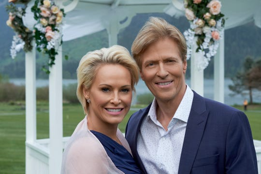 "Jack Wagner and Josie Bissett will be at the Hallmark/Graceland fan convention, promoting their latest romance, ""Wedding March 5: My Boyfriend's Back."""