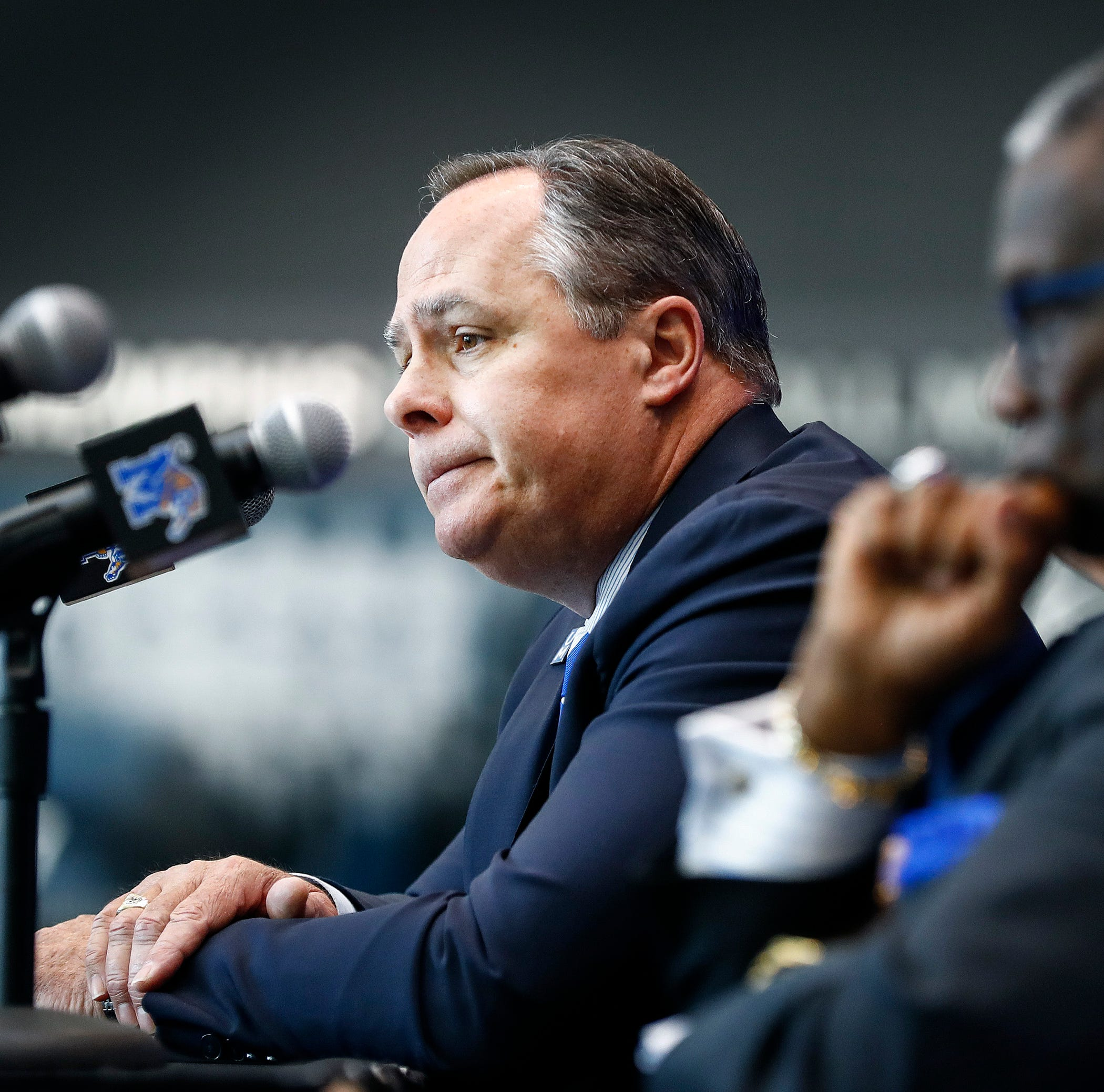 Split between Memphis AD Tom Bowen and President M. David Rudd should've happened sooner