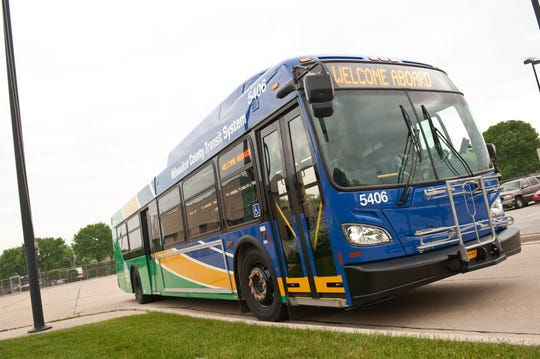 A Milwaukee County Transit System bus shown in this file photo.