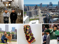 A new public plaza downtown, a pasta bar opening and the story of how Wisconsin gave women the right to vote