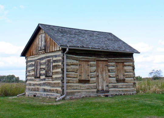 The Gotten Cabin in the Kettle Moraine State Forest-Southern Unit near Eagle was built by Prussian immigrant Henry Gotten in the 1850s.
