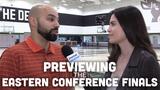 Matt Velazquez and Olivia Reiner discuss the challenges the Bucks face in Kawhi Leonard and the Toronto Raptors.