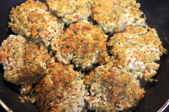 Carrot Cutlets get a dash of flavor from Angostura bitters.