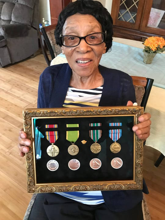 Groundbreaking World War II unit of black women honored decades after their service