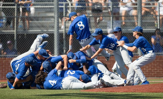 Sterlington celebrated its first Class 3A state championship in baseball last year during the Allstate Sugar Bowl/LHSAA State Tournament in Sulphur. The Sterlington and Ouachita Christian baseball teams, and the West Ouachita, Mangham, Oak Grove and Claiborne Christian softball teams, won't be able to defend their championships after the LHSAA canceled spring sports due to the COVID-19 pandemic.