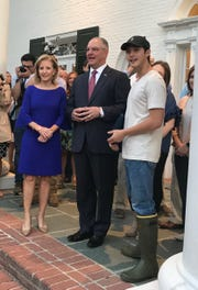 Gov. John Bel Edwards proclaimed Tuesday Laine Hardy Day. Hardy made it to the final three contestants on American Idol and will appear on the series May 19 finale where one will be named the winner.