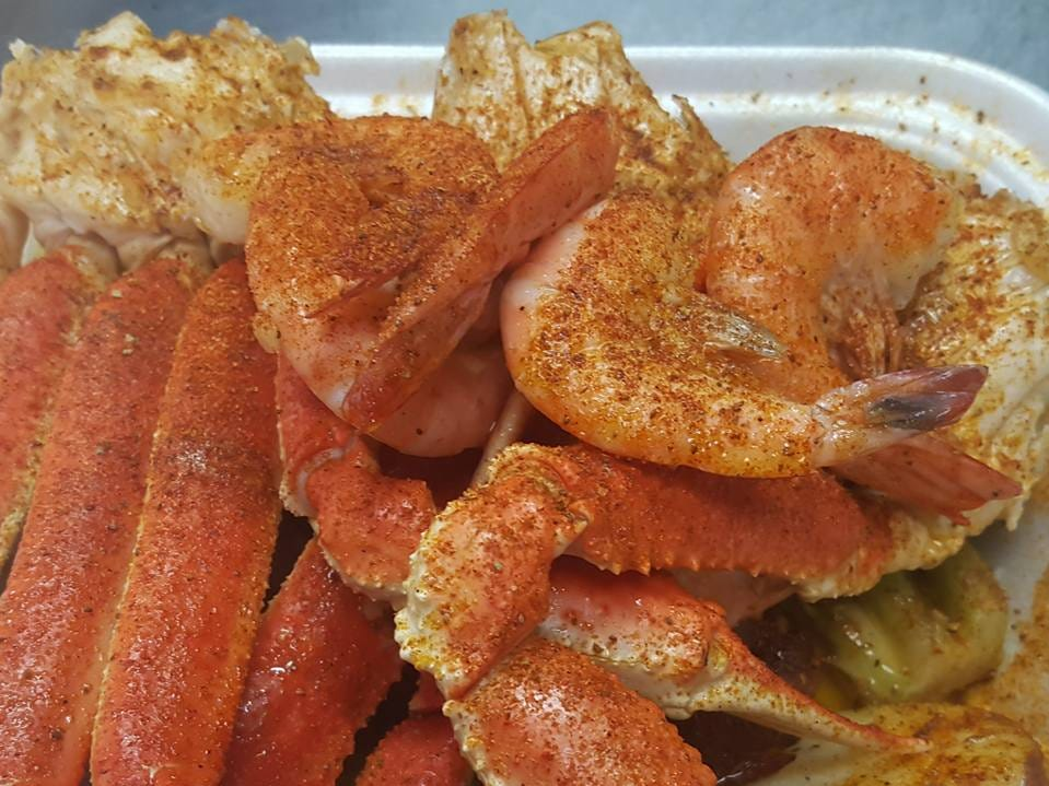 Crab, shrimp and lobster tails from Seafood Sensation. A Murfreesboro store will open in late summer.