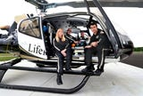 In addition to moving into a new base shared with TDK construction company, LifeFlight 5 has a new state-of-the-art helicopter