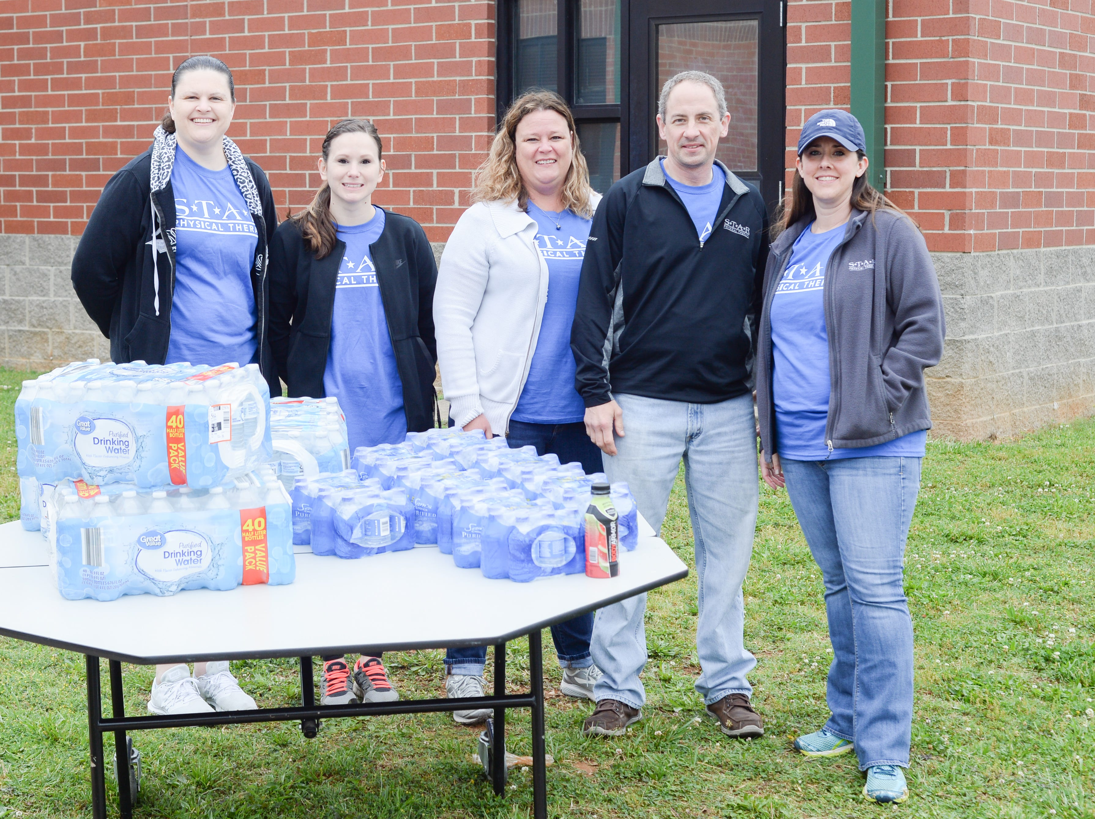 STAR Physical Therapy came out to support the Strawberry Stride at Portland High School during the 78th Annual Middle Tennessee Strawberry Festival presented by the Portland Chamber of Commerce in Portland on Saturday, May 11.