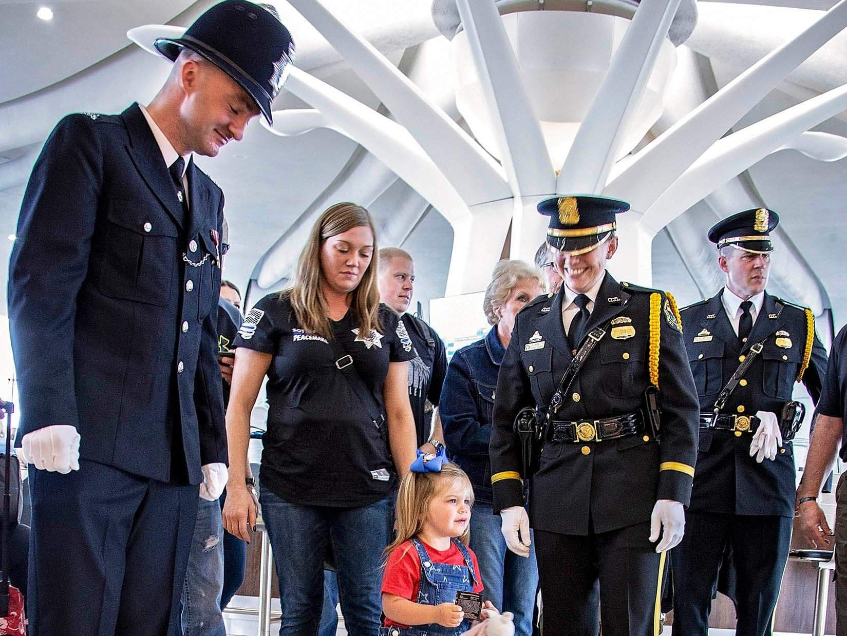 Dickson County Sheriff's Office Sgt. Daniel Baker, his widow Lisa Baker, and daughter Meredith were honored at the National Police Week in Washington, D.C.