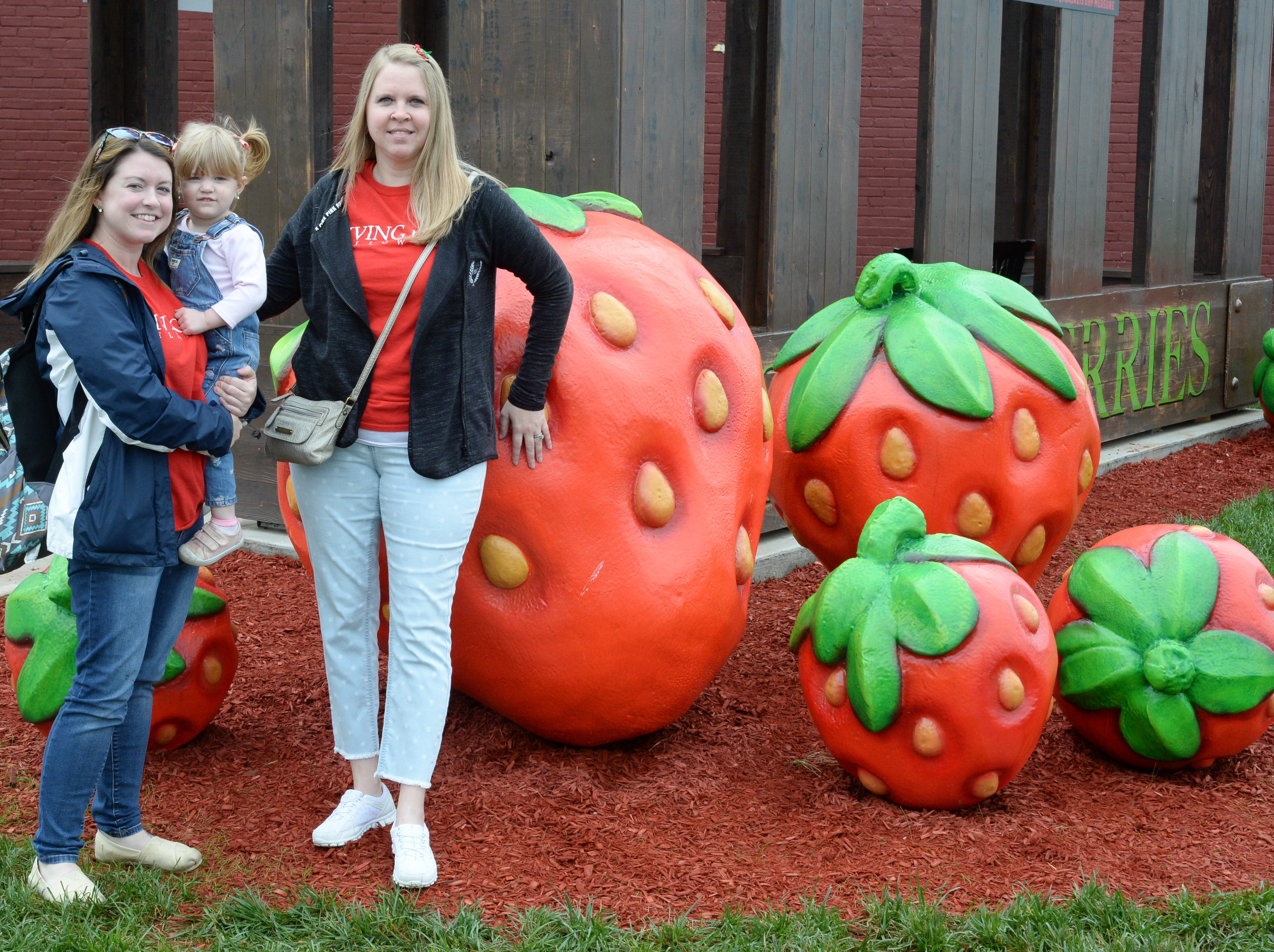 Attendees gathered for the 78th Annual Middle Tennessee Strawberry Festival presented by the Portland Chamber of Commerce in Portland on Saturday, May 11.