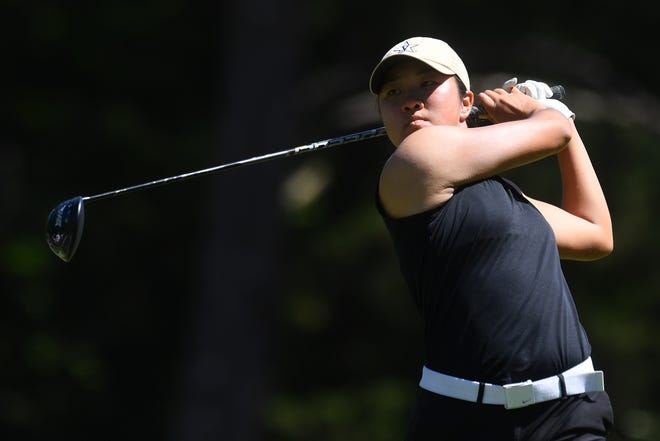 Auston Kim, a Nease graduate who plays college golf at Vanderbilt, will play in her second U.S. Women's Open this week at the Champions Club in Houston.