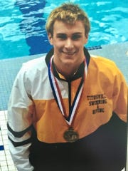 Years before J.J. Bleday broke Vanderbilt's single-season home run record, he set several swimming records at Titusville High as one of the top swimmers in Pennsylvania.