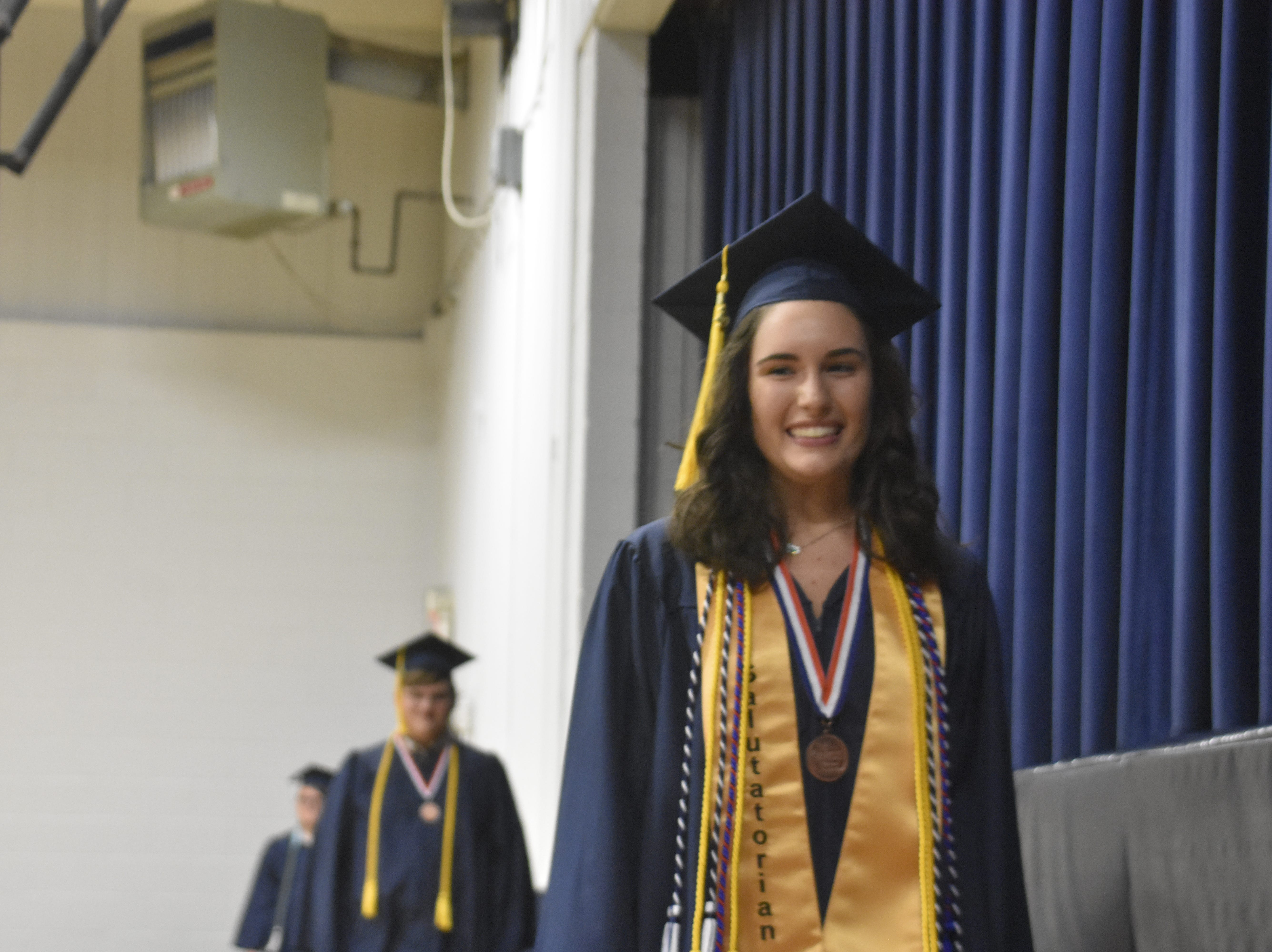 Pleasant View Christian School's class of 2019 graduated Monday, May 13.