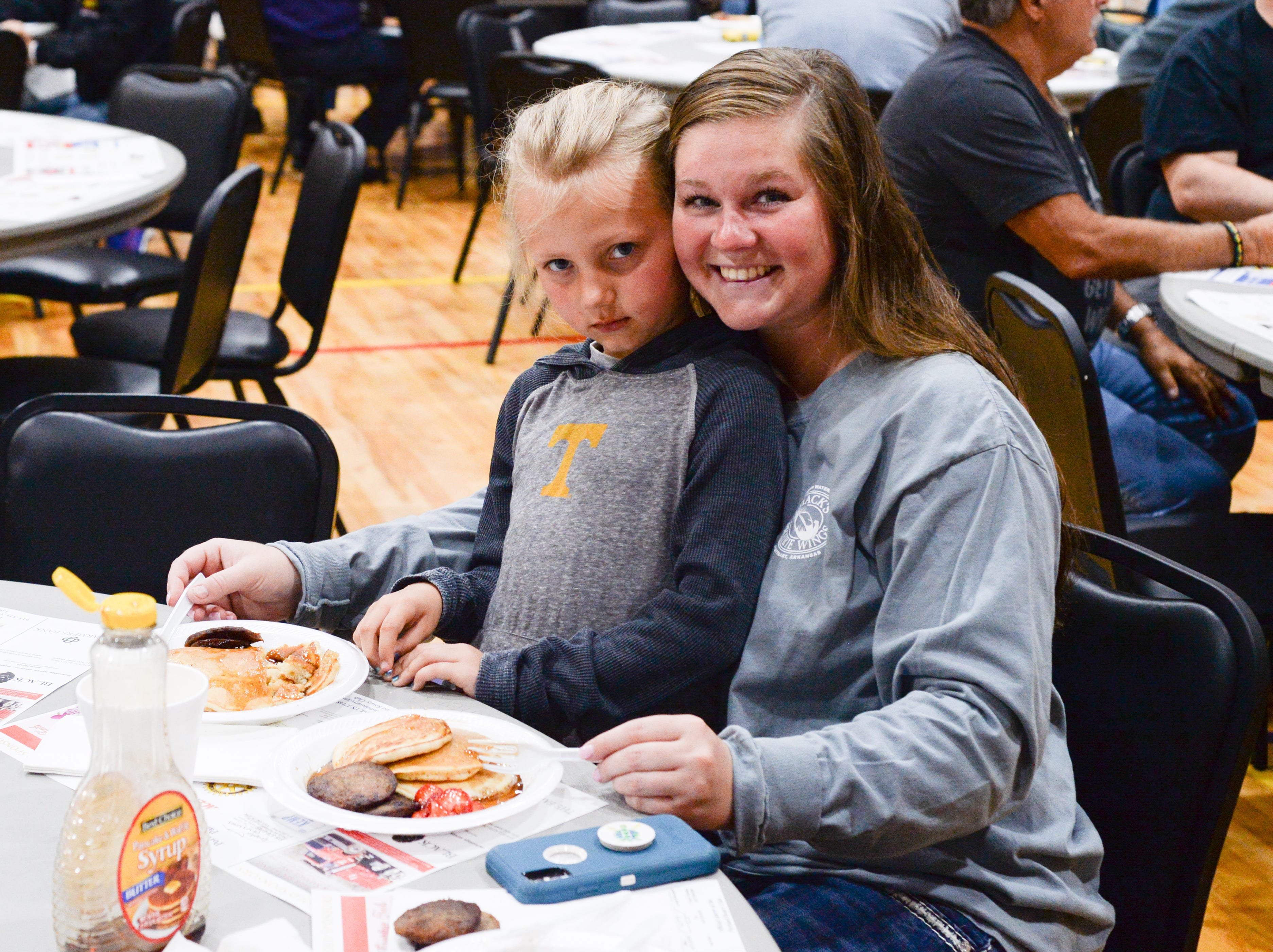 A hearty breakfast was served during the Strawberry Festival Pancake Breakfast & Silent Auction presented by the Portland Rotary Club & Portland FFA at First Baptist Church Portland on Saturday, May 11.