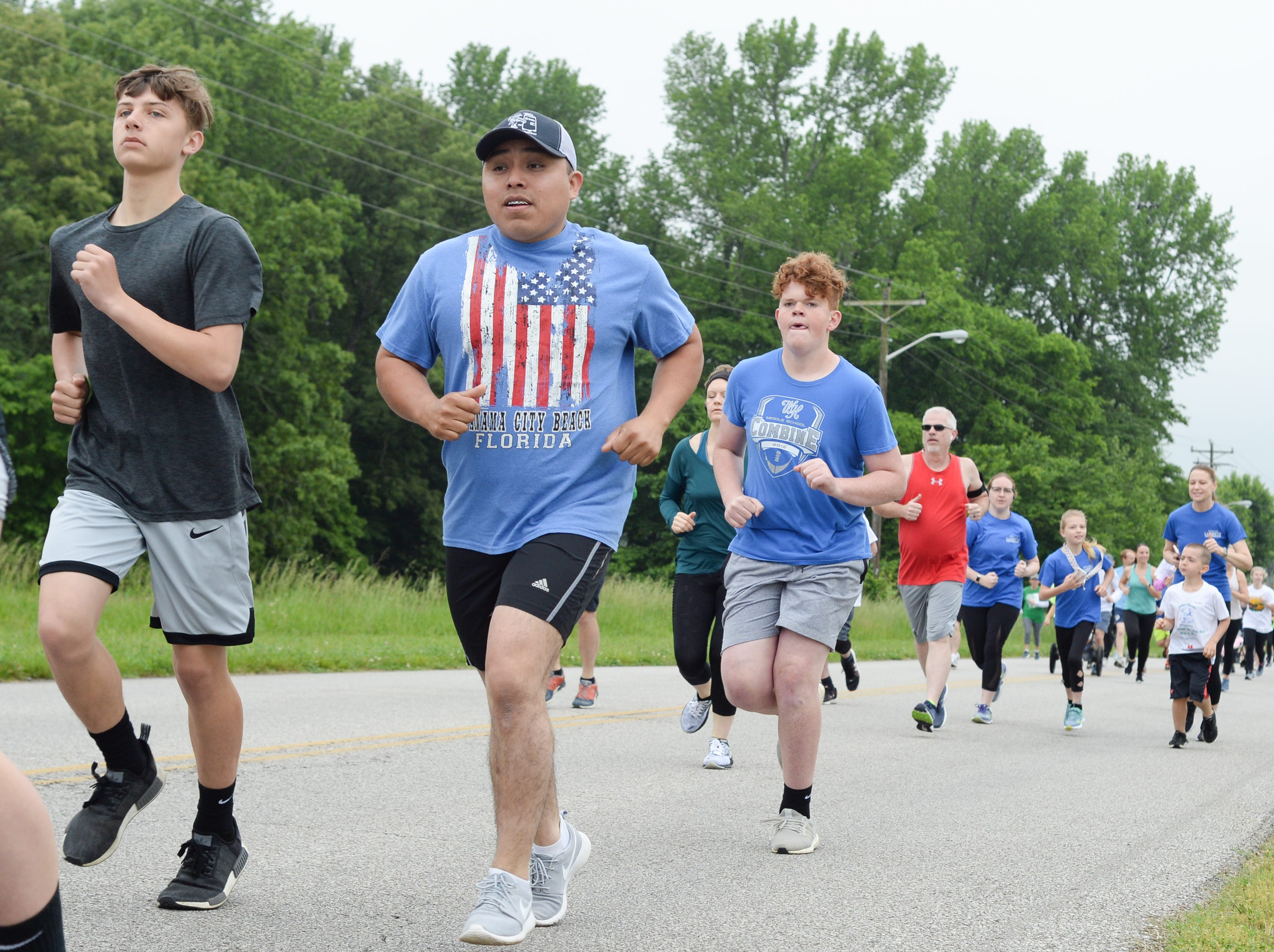 Community support was strong for the Strawberry Stride at Portland High School during the 78th Annual Middle Tennessee Strawberry Festival presented by the Portland Chamber of Commerce in Portland on Saturday, May 11.