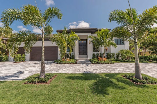 Borelli Construction's new model home is located at 625 Parkview Lane in Naples.